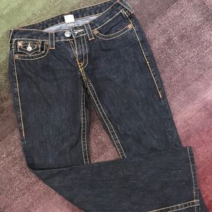 True Religion boot cut/bell bottom jeans
